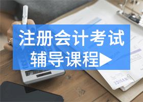 注册会计师考试辅导课程